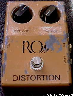 Ross Distortion. At one point, I painted it with white-out and put a Vermont state flag sticker on it.  Brilliant, huh?